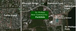 Dr Phillips Parkside Map